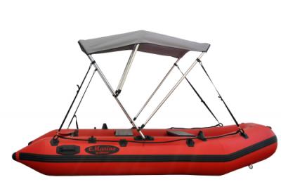 "Bimini top 03 400x269 - Size B Bimini Top for 9-11ft Boats, 3 Bow Style, Width 56"""
