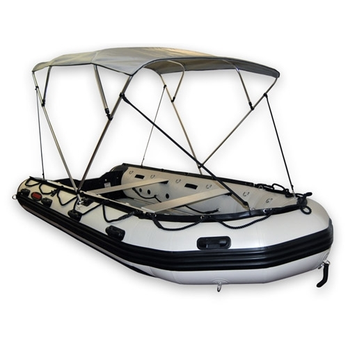 Size e bimini top for 16 20ft boats 4 bow style width 77 for 16 foot aluminum boat motor size