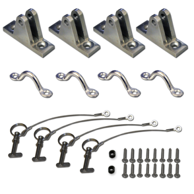 Deck Mount Kit 400x400 - Deck Mount Kit for Rigid Hull Boats