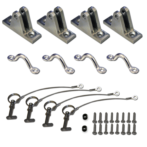 Deck Mount Kit - Deck Mount Kit for Rigid Hull Boats