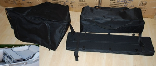 storage bags - Seat Cushion with Under Seat Storage Bag