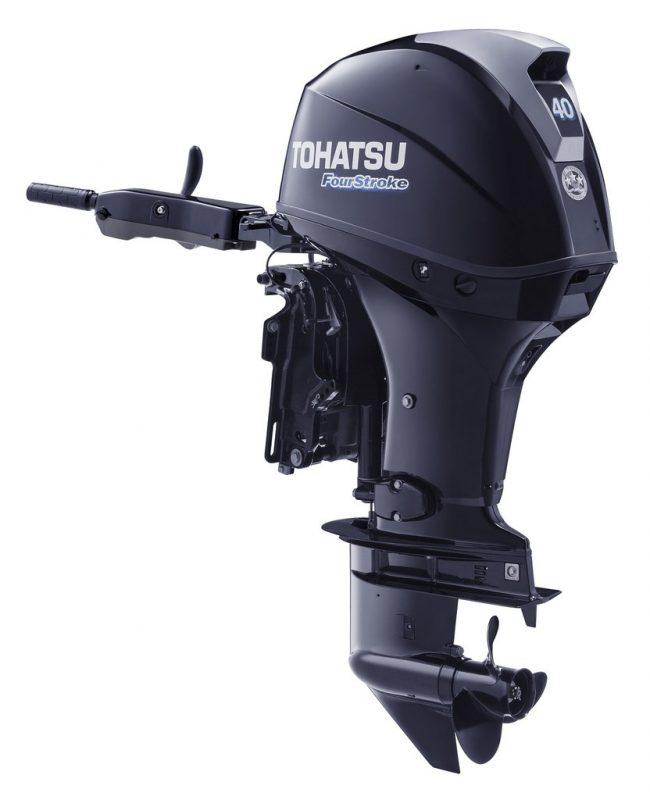 MFS 40 F 2014 1024x1024 650x800 - Tohatsu 4-Stroke 40HP Outboard Motor, Tiller Handle