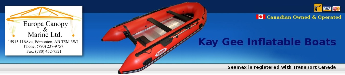 Europa Canopy & Marine / Kay Gee Inflatable Boats