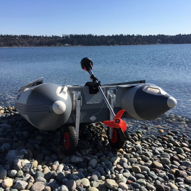 Trolling motor 05 1 650x650 - Seamax 12V SpeedMax Electric Trolling Motor with 40 Inches Shaft 55 to 65 Lbs Thrust (2018 Edition)