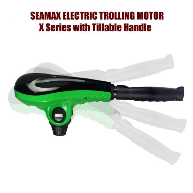 s l1600 650x650 - Seamax 12V Electric Trolling Motor, 62 Pound Thrust, 40 Inch Shaft, 8 Speeds