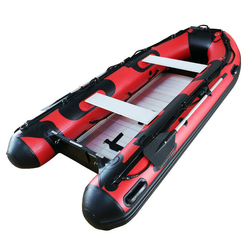 HD430 Inflatable Boat Red